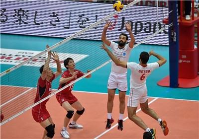 والیبال ایران ژاپن