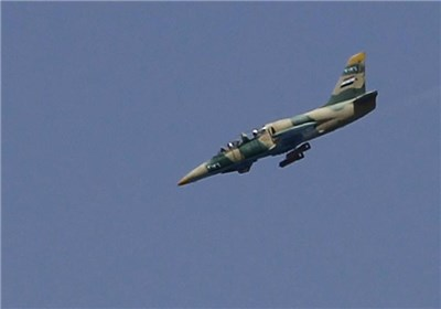 Syrian Jets Pound Militant Positions South of Damascus