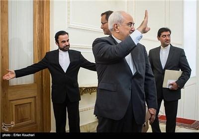 محمد جواد ظریف وزیر الخارجیة