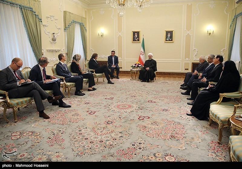 دیدار وزیر امور خارجه هلند با رئیس جمهور