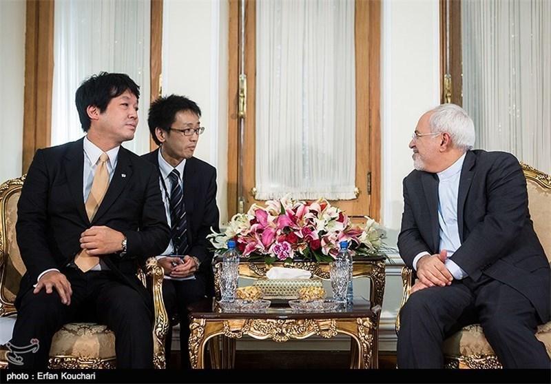 وزیر الخارجیة: الیابان بإمکانها استعادة مکانتها الاقتصادیة السابقة فی ایران الاسلامیة