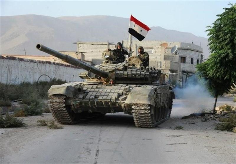 الجیش السوری یثبت نقاطه على تلال استراتیجیة فی محیط ضاحیة الأسد بریف دمشق