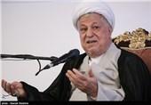 آیتالله اکبر هاشمی رفسنجانی رئیس مجمع تشخیص مصلحت نظام در نخستین کنگره کشوری آکادمی اقتصاد سلامت
