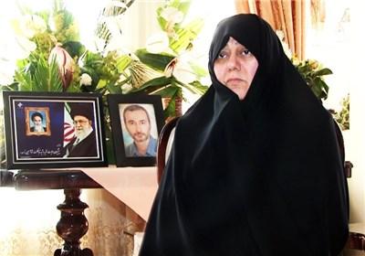 فرشته روح افزا همسر شهید حاتمی 2