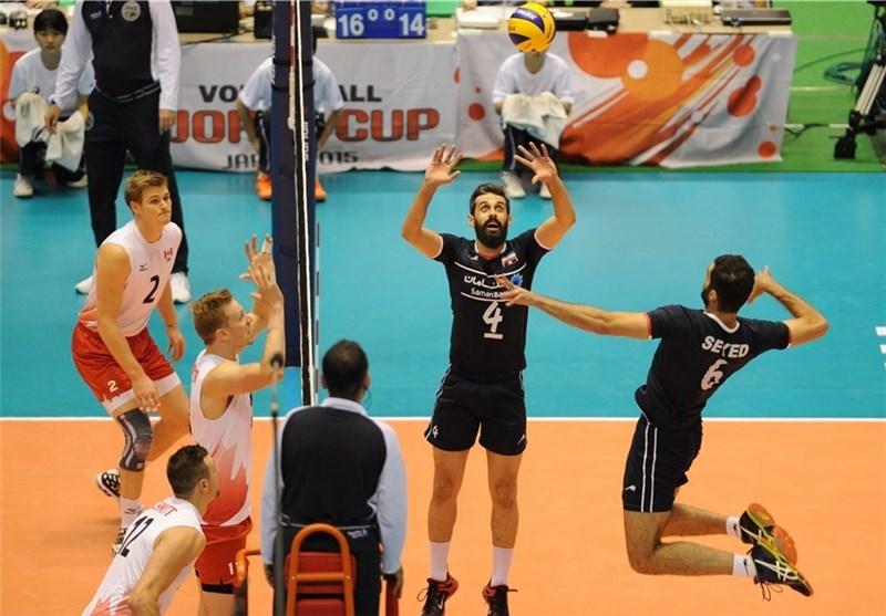 والیبال ایران کانادا