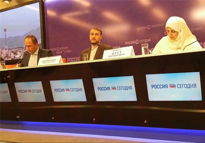 عبداللهیان من موسکو : الأسد جزء من أی حلّ سیاسی للأزمة