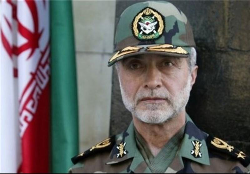 قائد الجیش : قواتنا المسلحة لا تجامل احدا فی الدفاع عن البلاد