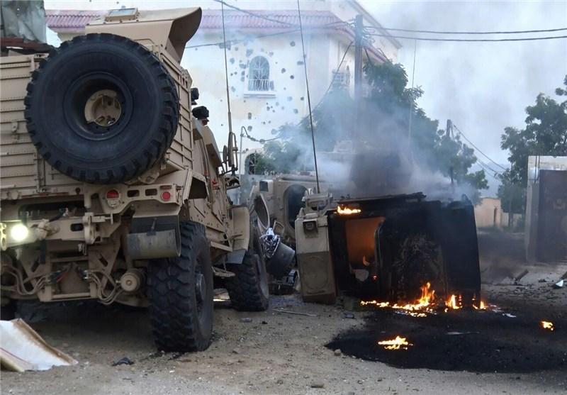 انکسار زحف عسکری سعودی کبیر على موقع الحثیرة مکون من 50 دبابة و100 آلیة عسکریة