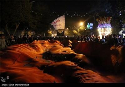سومین شب مراسم ایام مسلمیه در حرم حضرت عبدالعظیم(ع)