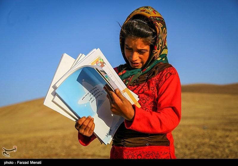کودکان عشایری برای امام خامنهای خواندند + فیلم