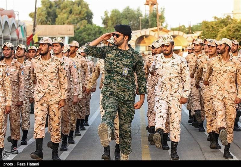 مراسم صبحگاه مشترک نیروی مسلح استان ایلام برگزار شد