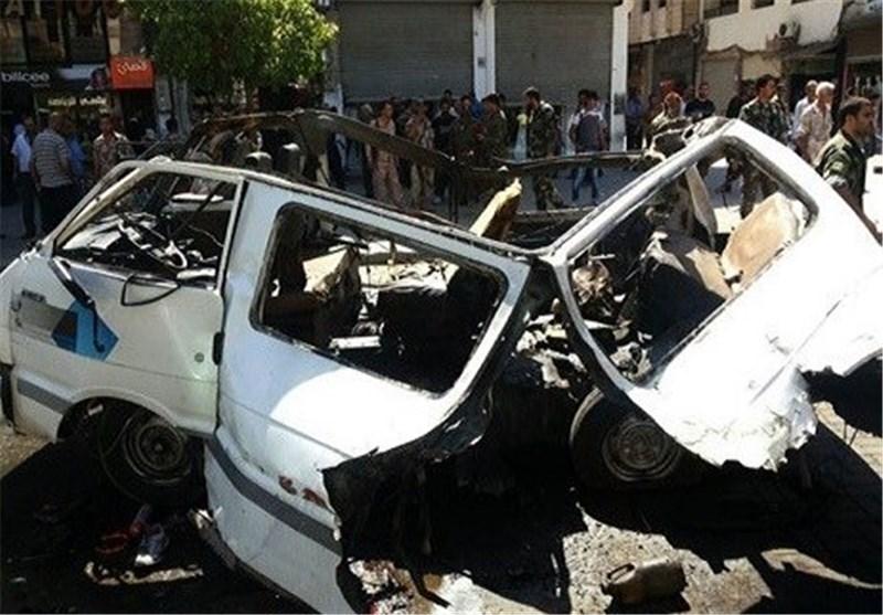 تفجیر إرهابی یستهدف المدنیین فی حمص وسط سوریا