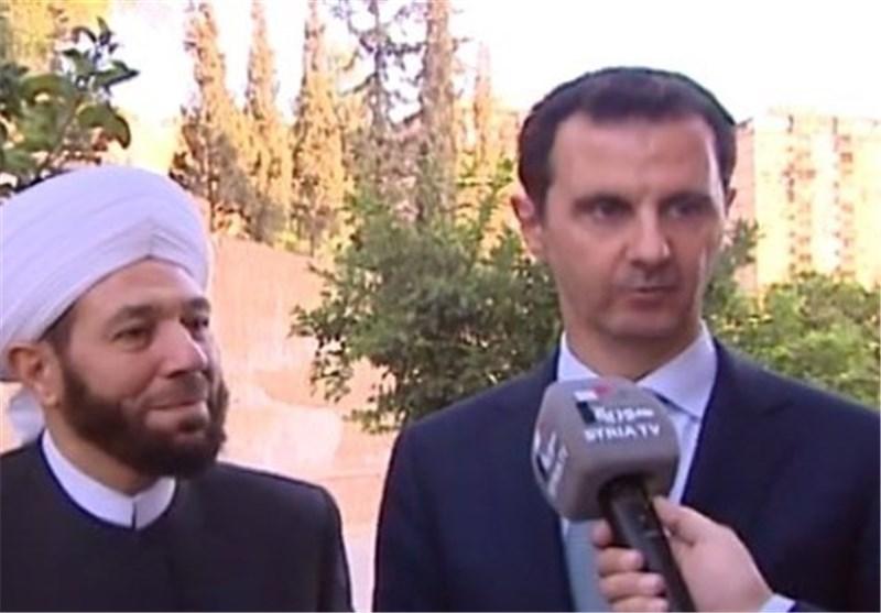 الرئیس الأسد : إیماننا بالوطن والشعب یعید الأمن إلى سوریا