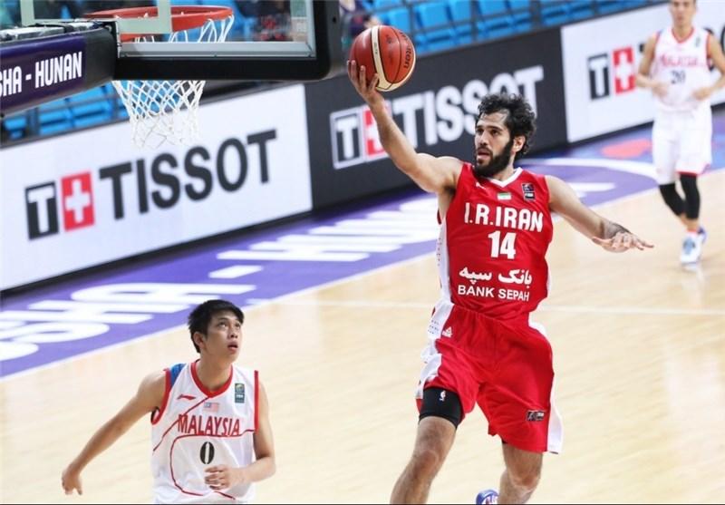 بسکتبال ایران صمد نیکخواه