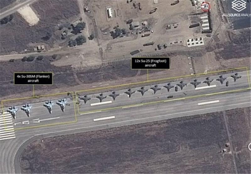 15 طائرة شحن روسیة تحط فی قاعدة عسکریة شمال سوریا