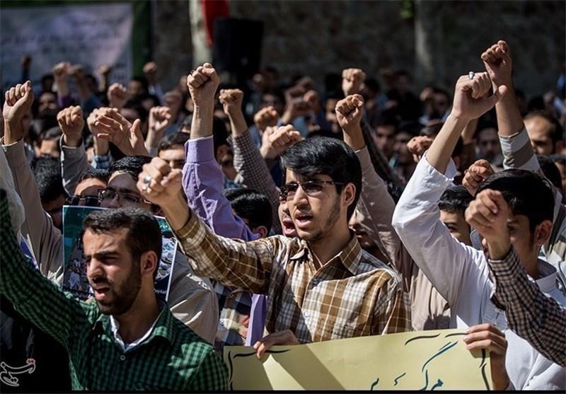 دانشجویان اراکی در اعتراض به فاجعه مِنا تجمع اعتراضآمیز برپا کردند 