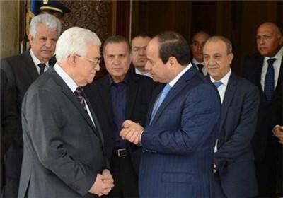 تاکید السیسی و عباس بر پیشبرد تلاش های آشتی بین گروه های فلسطینی