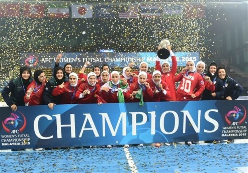 Iran Wins AFC Women's Futsal Championship