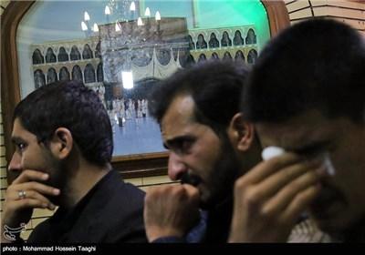 مراسم ختم محسن حاجی حسنی از درگذشتگان حادثه منا- مشهد