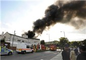 Huge Fire at 'Europe's Largest Mosque' in London