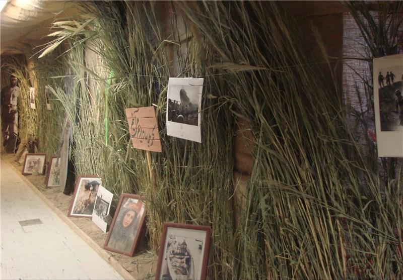 روزانه 6 هزار نفر از نمایشگاه رزمی فرهنگی خیبر اردبیل بازدید کردند