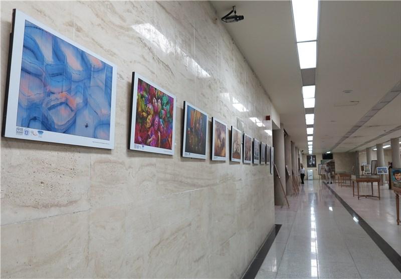 نمایشگاه دوسالانه عکس بسیج چهارمحال و بختیاری افتتاح شد