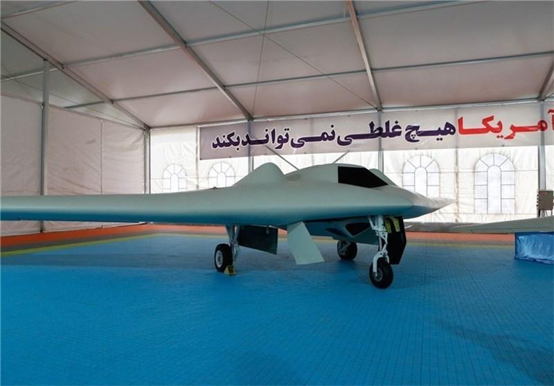تسنیم تنشر صورا جدیدة لطائرة آر کیو 170 الإیرانیة بدون طیار