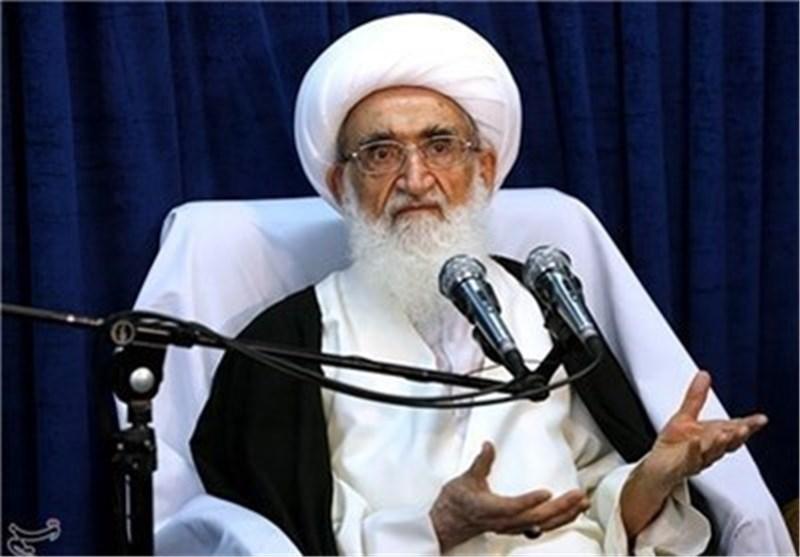 المرجع الدینی نوری همدانی: نظام آل سعود لیس إلا عمیل لامریکا ولا مهمة له سوى القتل