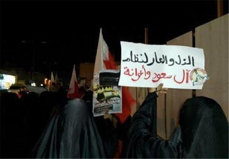 تظاهرات فی البحرین تطالب بانقاذ الحرمین الشریفین من إهمال آل سعود