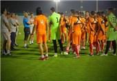 تمرین تیم فوتبال امید