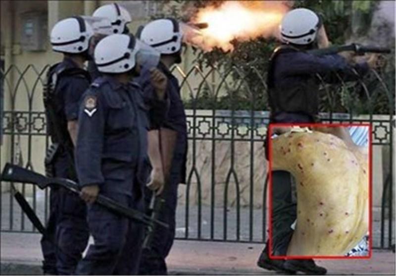 قوات النظام الخلیفی تقتحم منازل المواطنین وتستخدم سلاح الشوزن ضد المتظاهرین السلمیین