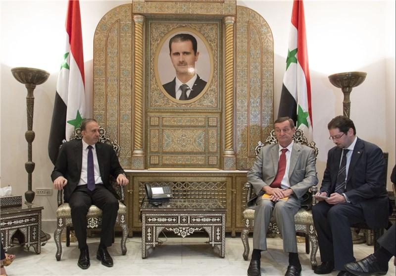 رئیس البرلمان السوری: الکثیر من الدول الغربیة تحاول التنسیق مع سوریا لمحاربة الإرهاب+ صور
