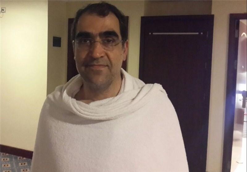 وصول وزیر الصحة الی مکة المکرمة لمتابعة اوضاع الحجاج الایرانیین