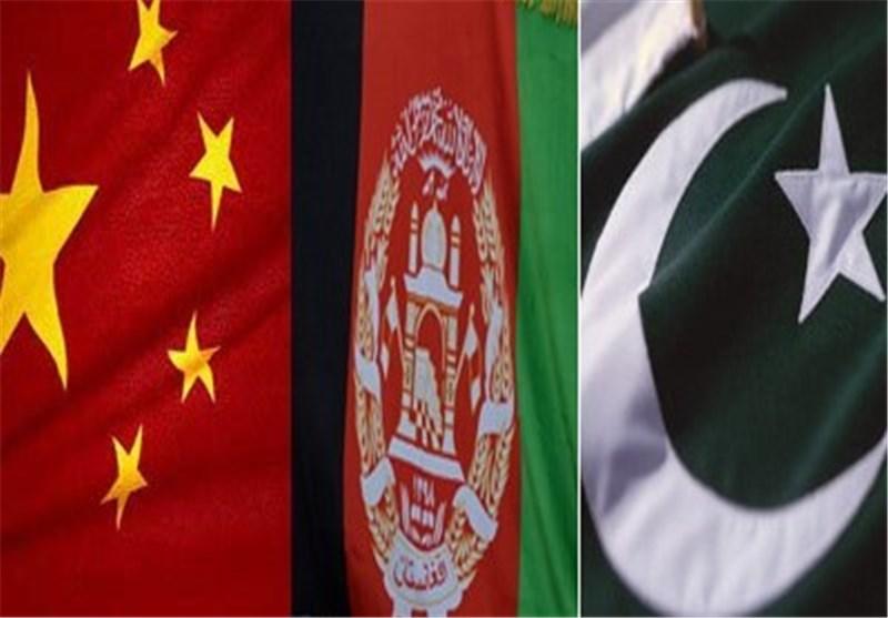 پرچم چین، افغانستان و پاکستان
