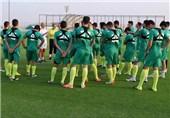 فریاد «ایران» بازیکنان امید پیش از دیدار با عربستان در حضور جباری و نوری + تصاویر