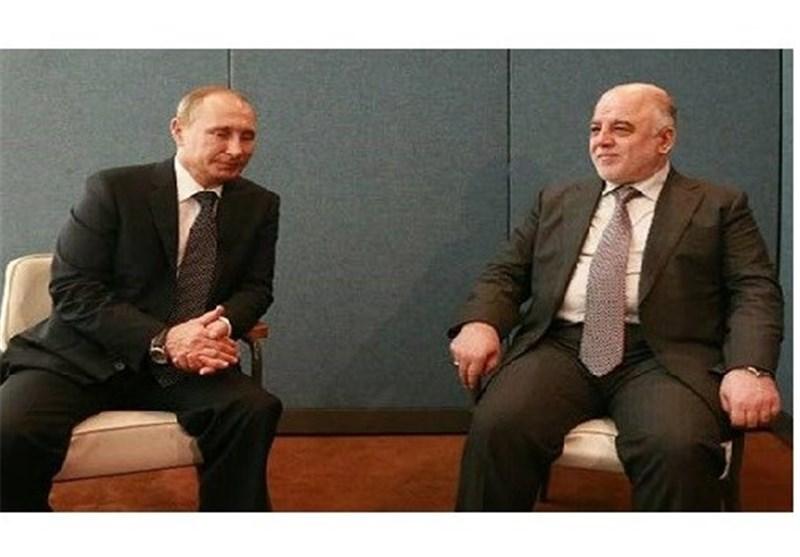 العبادی وبوتین یبحثان خطر المقاتلین الشیشانیین والتسلیح الروسی للعراق