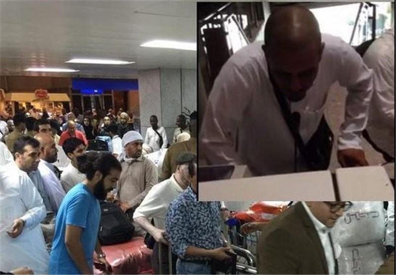 بالفیدیو .. الحجاج عالقون فی مطار جدة لساعات ولا وجود للموظفین فی المطار