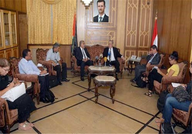 وفد أمریکی من دمشق: الحل السیاسی فی سوریا بات وشیکاً