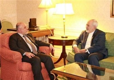 ظریف پیش از ترک کویت، با العبادی دیدار کرد