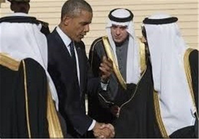 ملک سلمان و اوباما
