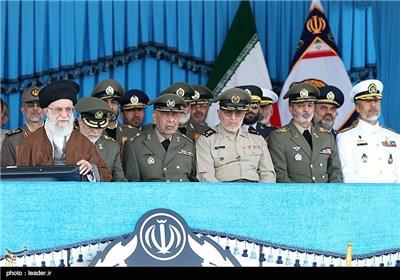 مراسم دانش آموختگی دانشجویان دانشگاههای افسری ارتش- نوشهر