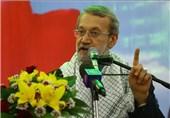 لاریجانی: حمایت غرب؛ در پس پرده تروریسم منطقه است