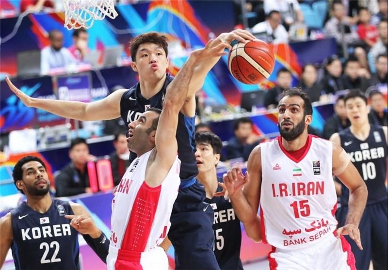بسکتبال ایران کره کامرانی حدادی