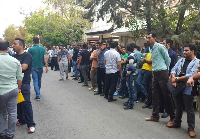هواداران پرسپولیس و هادی نوروزی