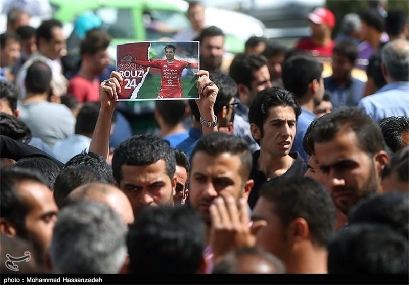 خراب شدن دیوار آرامگاه به روی مردم و احتمال بازگشت زودهنگام بازیکنان به تهران