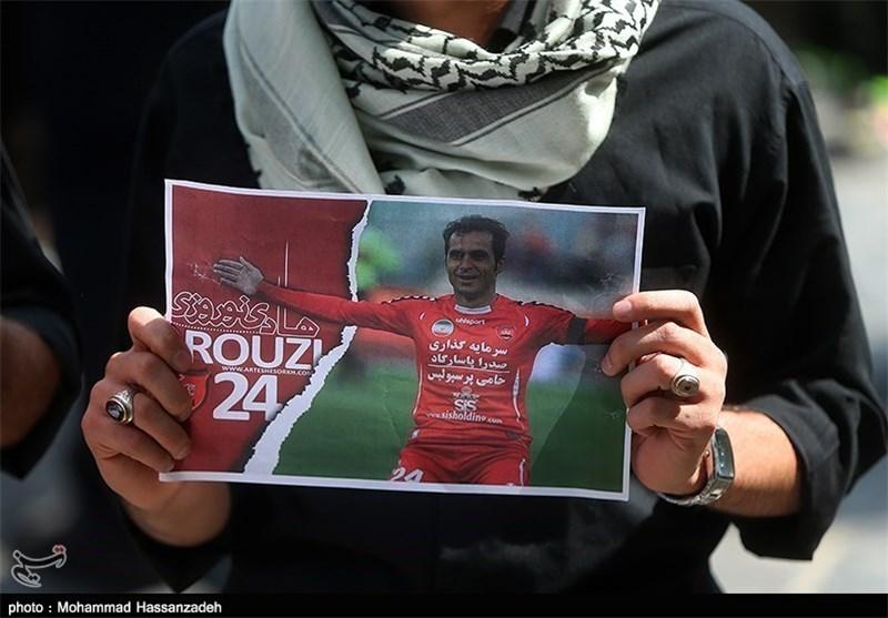 پیکر هادی نوروزی در زادگاهش تشییع شد