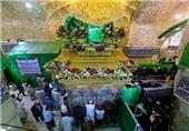 تزیین ضریح مقدس امام حسین(ع) به مناسبت عید غدیر+ تصاویر