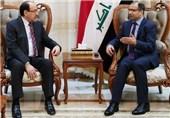 رایزنی مالکی و جبوری درباره اوضاع سیاسی و امنیتی عراق