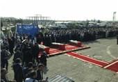 تصاویر و فیلم حضور سران قوا و مسئولان نظام در مراسم استقبال از جانباختگان فاجعه منا