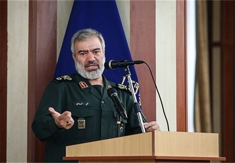 IRGC Navy Fit to Counter US Forces: Commander